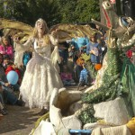 Fairy Queen telling stories
