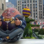Easter Eggs at Rockefeller Plaza